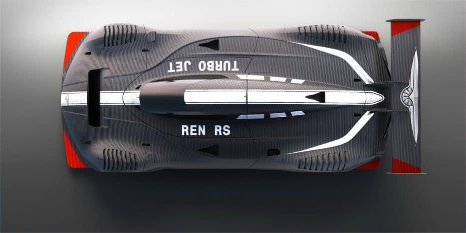 Así es el radical Techrules Ren RS: Un monoplaza con hasta seis motores eléctricos y 1.287 CV