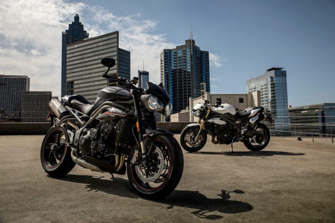 Así son las nuevas Triumph Speed Triple S y RS 2018: Más atractivas, deportivas y ágiles