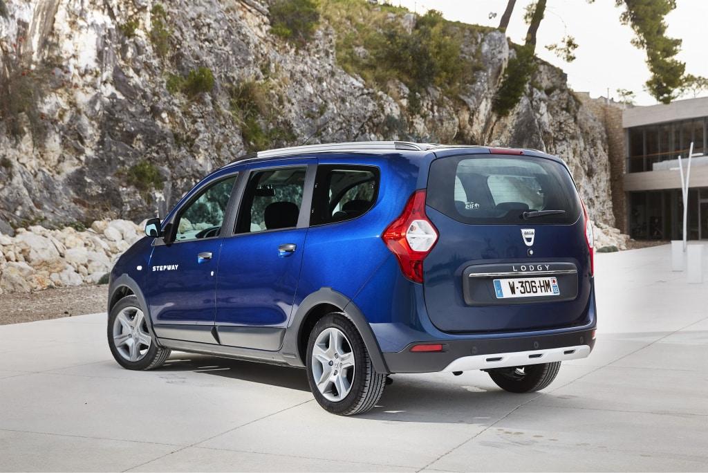 El coche de 7 plazas barato: el Dacia Lodgy