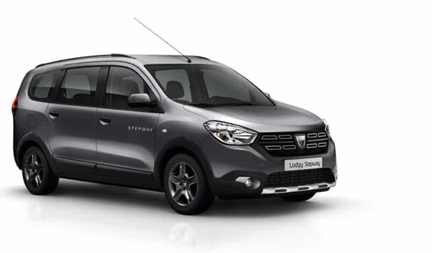 """Nueva edición especial """"Nómada"""" para el Dacia Lodgy: Más por menos"""