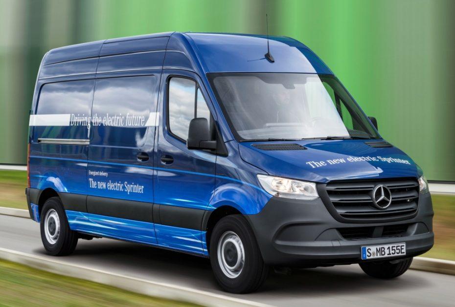 Mercedes-Benz eSprinter: Hasta 150 kilómetros de autonomía y gran capacidad de carga
