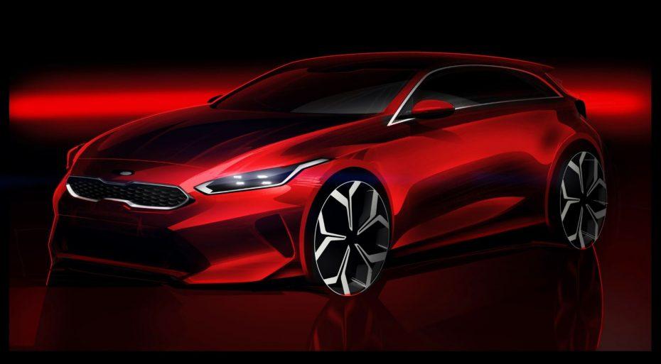 Primer anticipo del nuevo Kia Ceed: Llegará al mercado en el segundo semestre de 2018