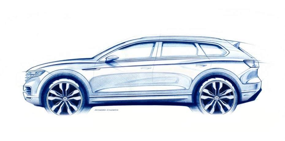 ¡Oficial!: Primeros detalles del nuevo Volkswagen Touareg