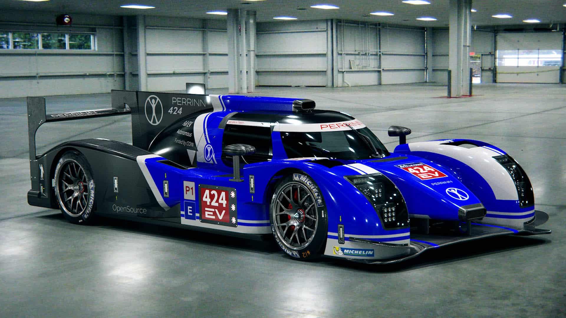 Perrinn 424 LMP1: 100% eléctrico y con más de 1.000 CV para correr las 24 Horas de Le Mans