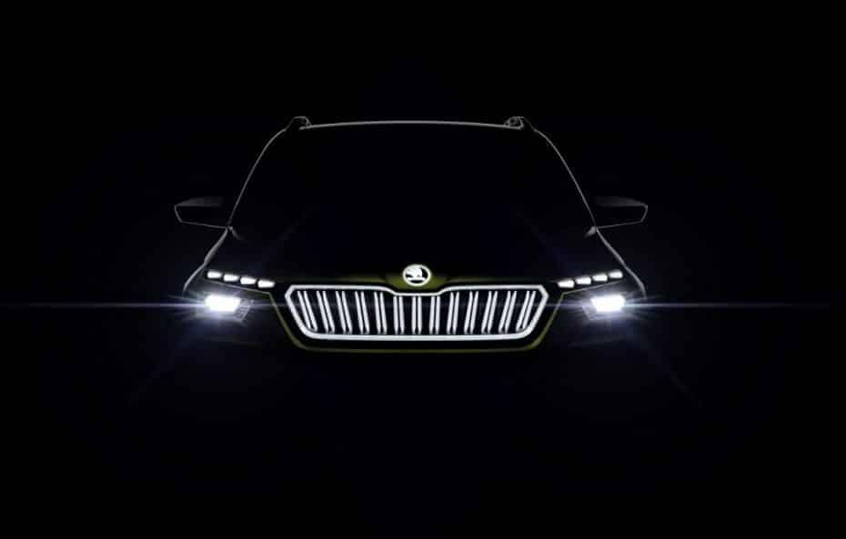 Škoda VISION X: El híbrido conceptual que usará GNC, gasolina y electricidad…