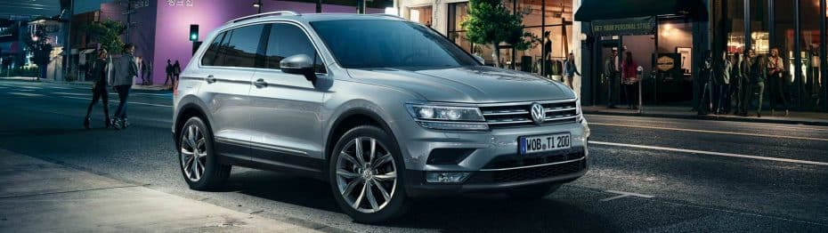 """El Volkswagen Tiguan estrena edición especial muy interesante: Se denomina """"Tech&Go"""""""