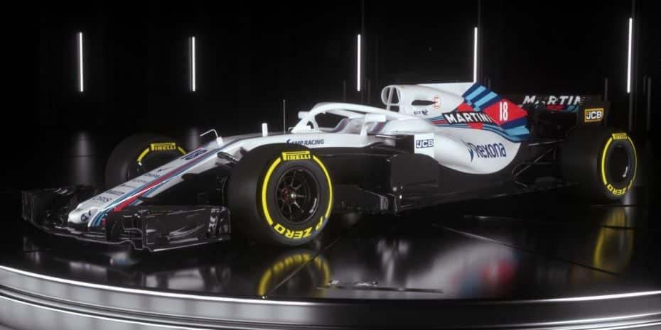 Te presentamos el nuevo Williams FW41 para la temporada 2018, y ya puedes verlo en acción…