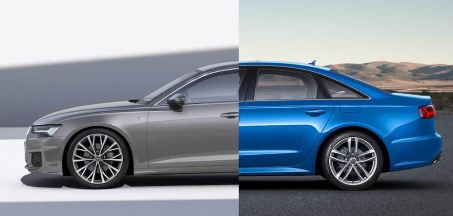 Comparación visual: Juzga tú mismo cuánto ha cambiado el nuevo Audi A6