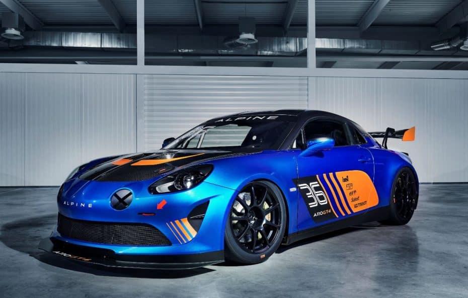 Alpine A110 GT4: La vuelta a la competición de la mano de Signatech