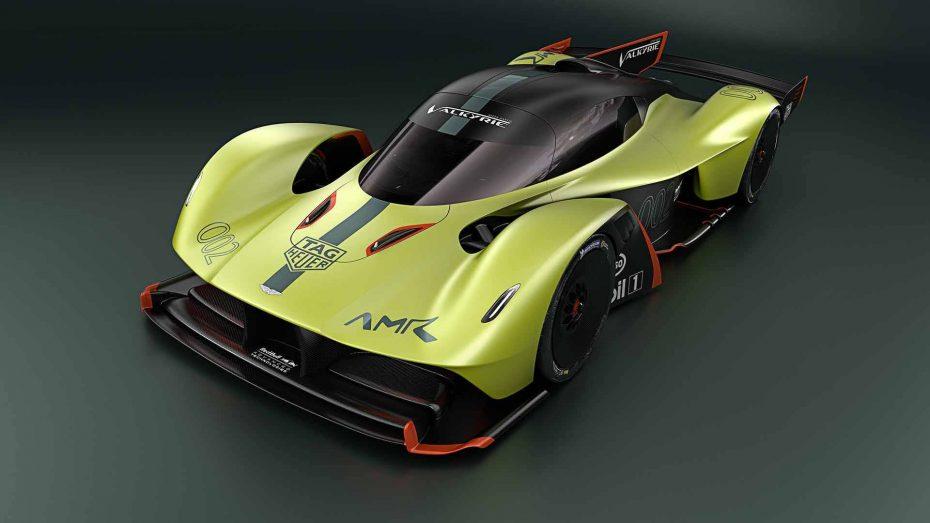 Aston Martin Valkyrie AMR Pro: 1.100 CV y mucha fibra de carbono directos a la pista