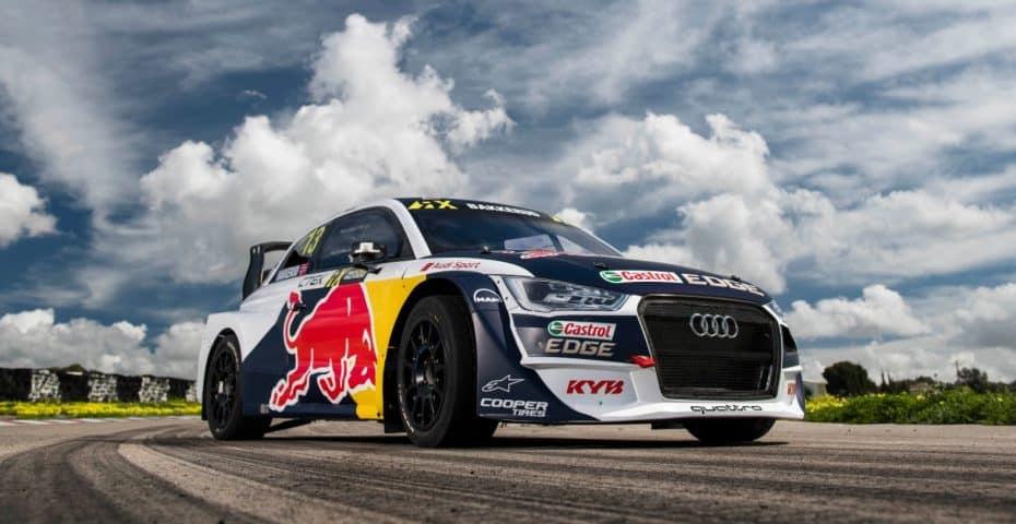 El Audi S1 EKS RX quattro de 580 CV está listo para la nueva temporada de RX