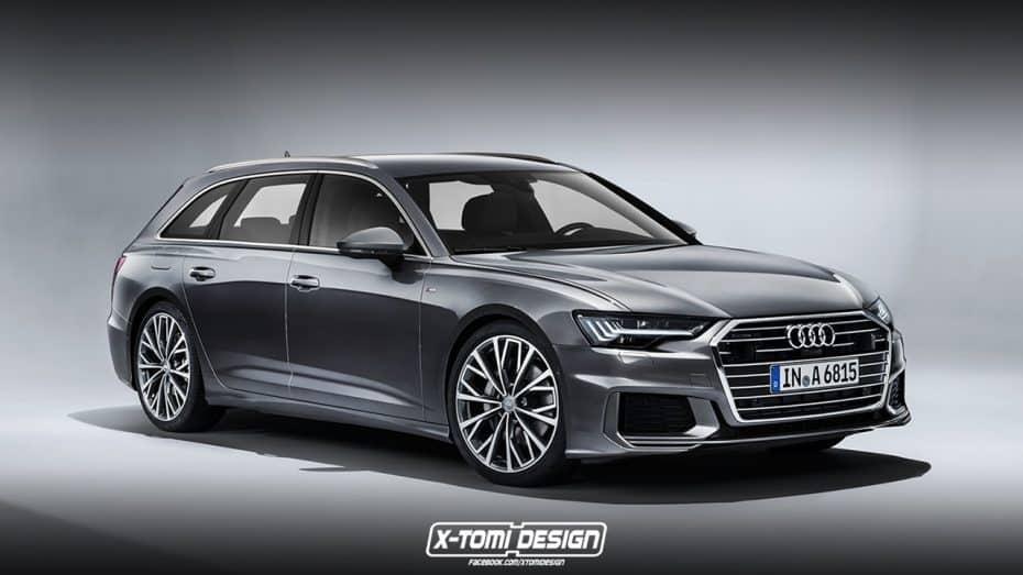 Los Audi A6 Avant, Allroad y RS6 tardarán en llegar, pero a ver qué te parecen estos render…