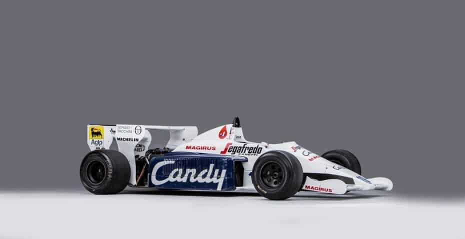 A subasta el Toleman F1 de Ayrton Senna: Un pedazo de historia del piloto brasileño
