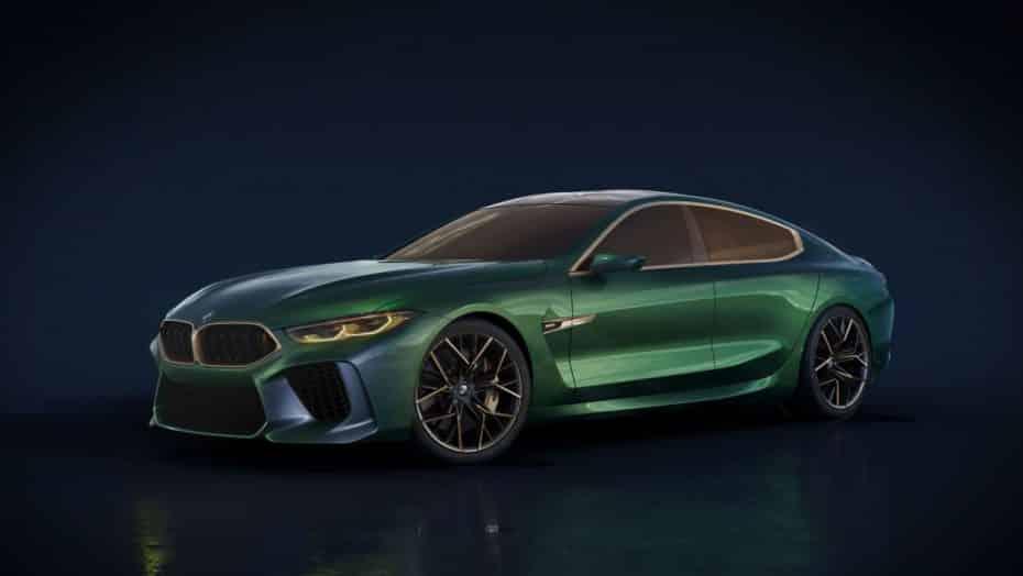 BMW M8 Gran Coupé Concept: El anticipo del nuevo buque insignia de la marca