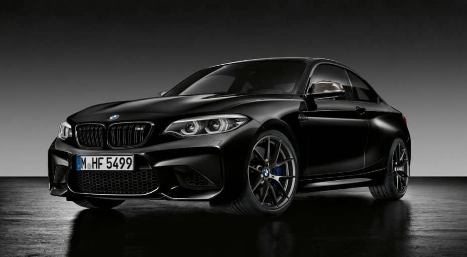 ¡Todo al negro!: Así es el BMW M2 Coupe Edition Black Shadow