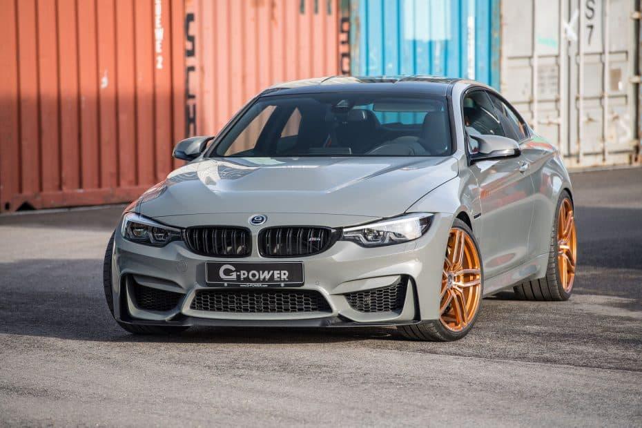 Lo último de G-Power es este BMW M4 CS con hasta 600 CV y llantas forjadas 'Hurricane RR'
