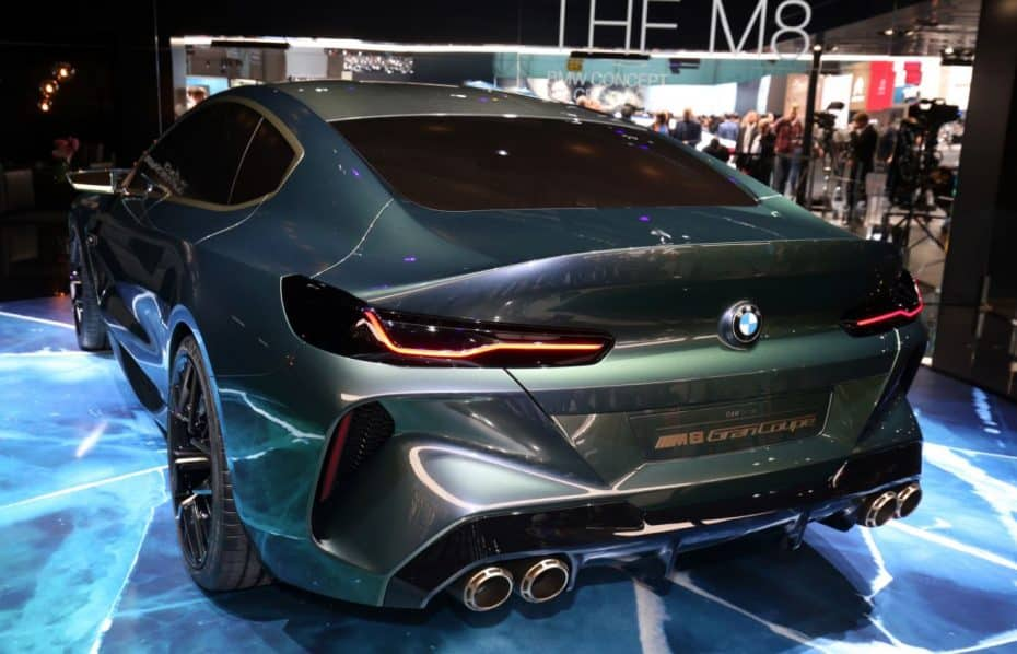 ¡Directo! Sí, el BMW M8 Gran Coupé Concept es impresionante