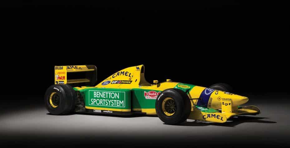 ¡Ojo! Ahora puedes hacerte con uno de los primeros coches de F1 de Michael Schumacher