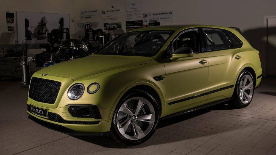 Este Bentley Bentayga W12 busca quitarle el récord de velocidad al Range Rover Sport en Pikes Peak