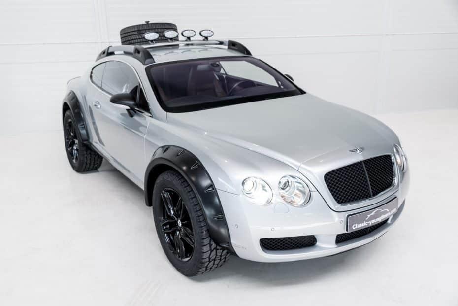 ¿Buscas algo más salvaje que un Bentayga? Este Bentley Continental GT off-road tiene que ser tuyo