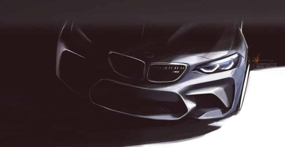 BMW M2 Competition llegará en Abril y podría convertirse en el BMW M de nueva generación más purista