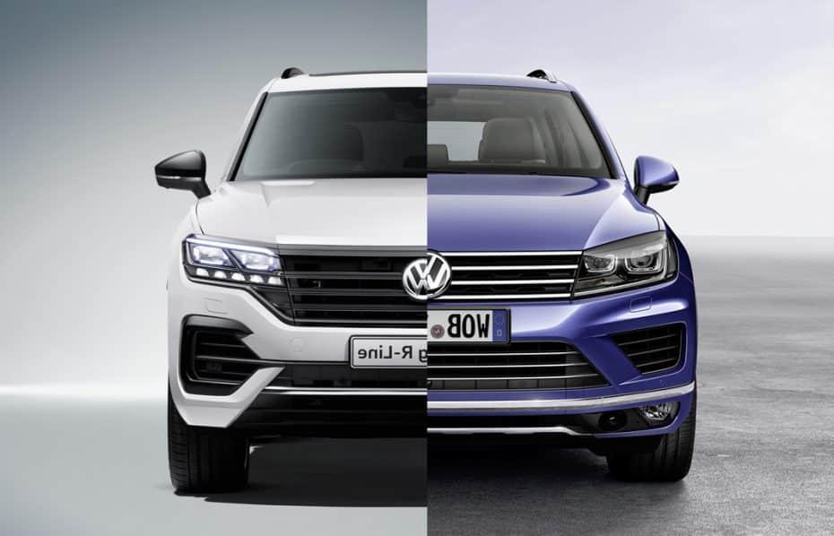 Comparación visual: Juzga tú mismo cuánto ha cambiado el nuevo Volkswagen Touareg