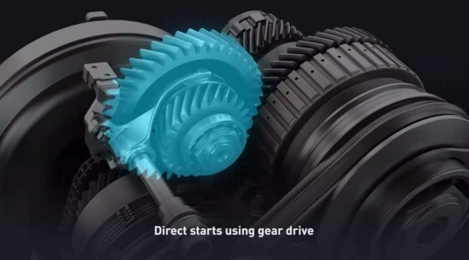 Análisis en profundidad: Qué efecto tiene el 'engranaje de arranque' en la nueva transmisión CVT de Toyota