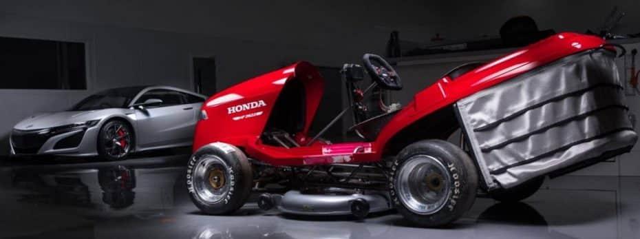 Te presentamos el rey de los cortacésped: Así es el Honda Mean Mower que alcanza los 215 km/h