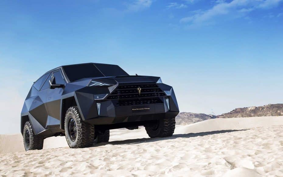 Karlmann King: El mastodóntico SUV de lujo chino parte de un Ford F-550 y cuesta 2 millones de dólares