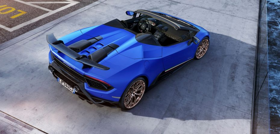 Lamborghini Huracán Performante Spyder: ¡Hasta 325 km/h a cielo abierto!