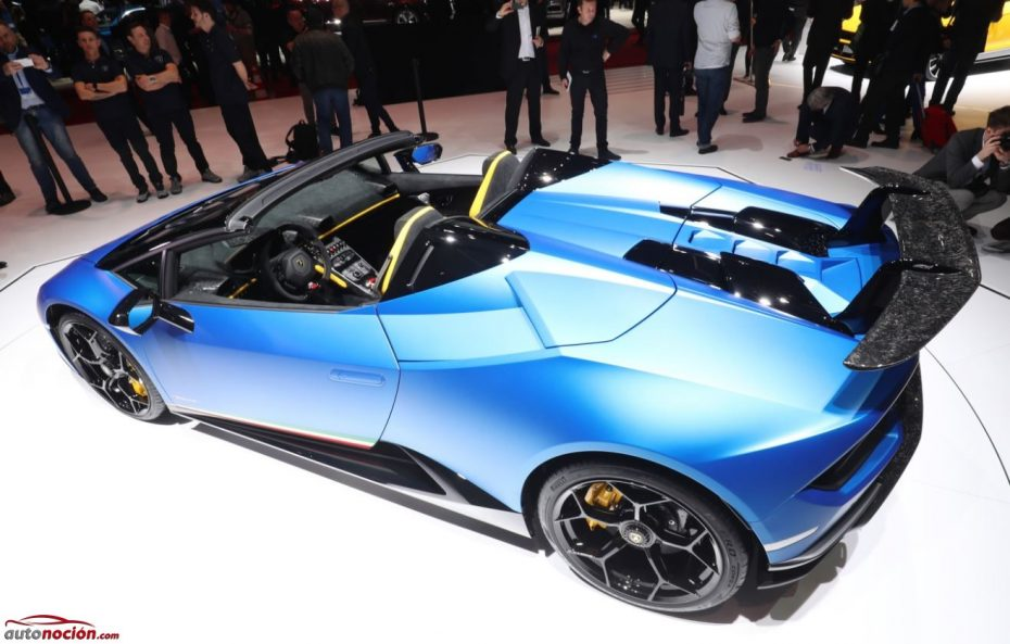 ¡Directo! Lamborghini Huracán Performante Spyder: Un V10 de 5,2 litros con aspiración natural y sin techo