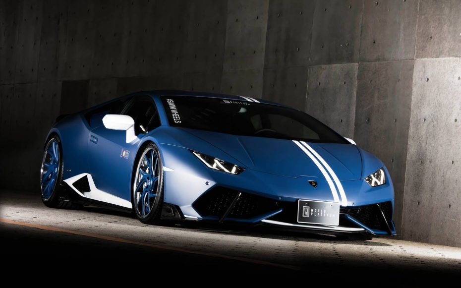 El último Lamborghini Huracán de Rowen luce discreto, pero muy, muy apetecible