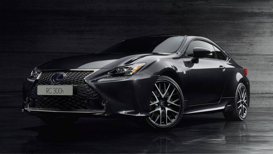 Lexus RC 300h F Sport Black Edition: Los japoneses se lo juegan todo al negro