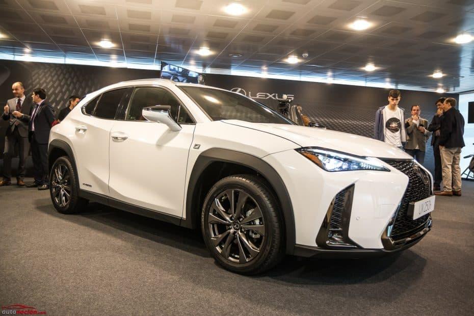Así es el Lexus UX250h en directo: El SUV compacto híbrido que plantará cara al BMW X2 en 2019