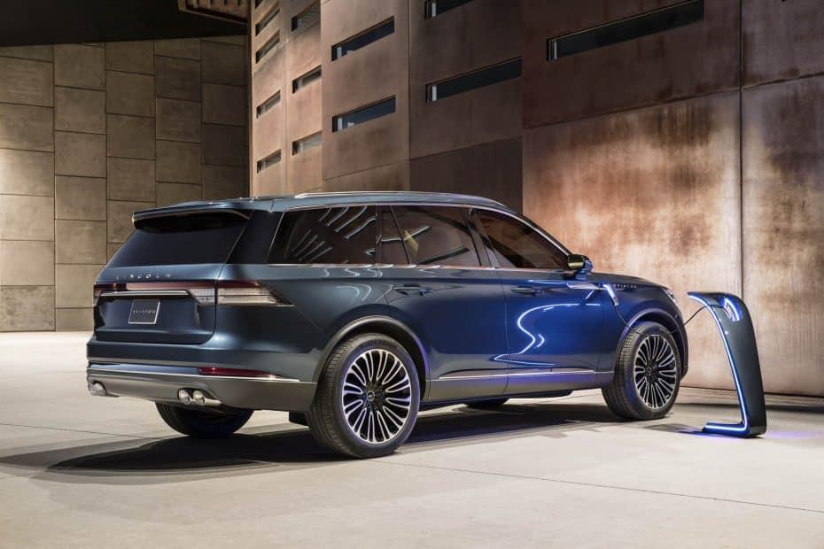 Así es el nuevo Lincoln Aviator concept: Un atractivo SUV de lujo híbrido enchufable