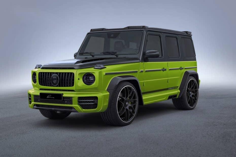 Lumma Design se atreve con el nuevo Mercedes-Benz Clase G: Así es el kit CLR G770