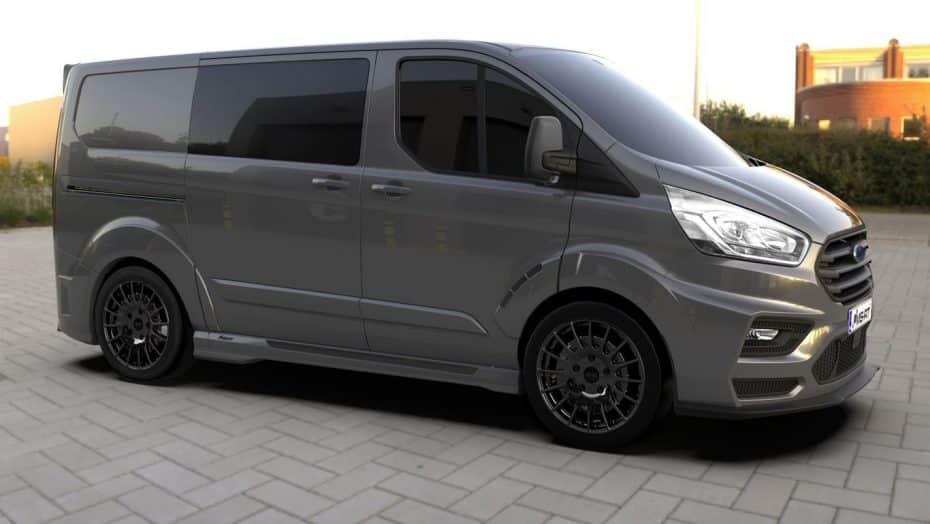 ¿Te parece algo aburrida la Ford Transit? Te presentamos el MS-RT Transit Custom