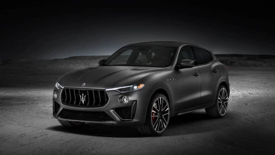 El Maserati Levante Trofeo es lo más cercano (de momento) al SUV que nos traerá Ferrari…