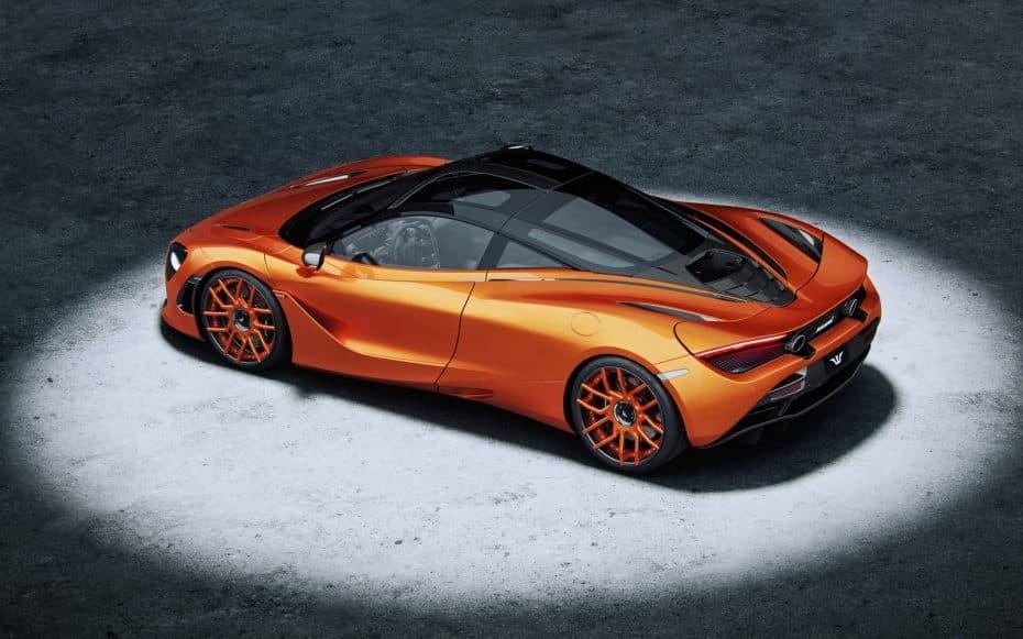 Hasta 800 CV y 880 Nm de par para el llamativo McLaren 720S de Wheelsandmore