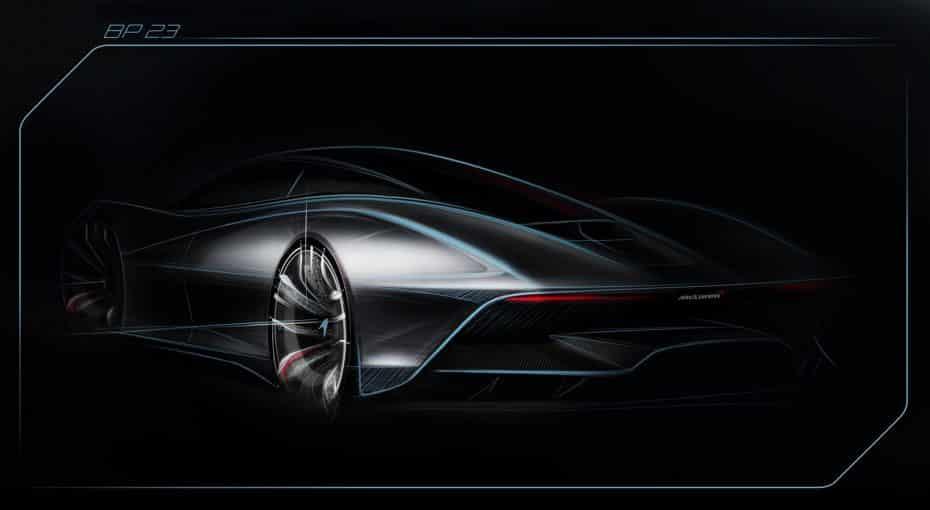 El próximo 'hyper GT' de McLaren tendrá tres plazas, será híbrido y superará los 391 km/h del F1