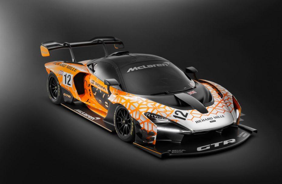 McLaren Senna GTR: 75 unidades del McLaren más extremo hasta la fecha (sólo apto para circuitos)