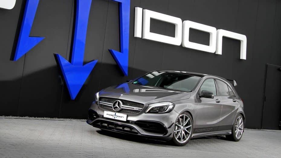 El Mercedes-AMG A 45 recibe 169 caballos y 185 Nm de par adicionales gracias a Posaidon