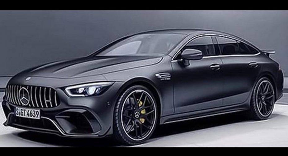 ¡Filtrado! Mercedes-AMG GT de cuatro puertas, ¿eres tú?: Este híbrido entre el CLS y el Panamera promete