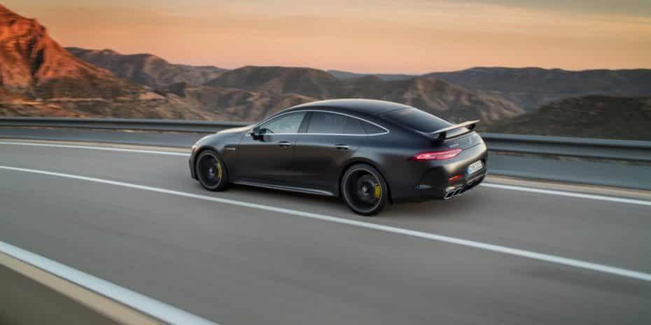 ¡Oficial!: Así es el Mercedes-AMG GT Coupé de 4 puertas que peleará con el Porsche Panamera