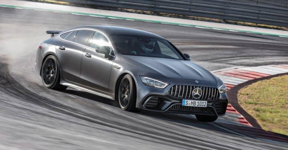 El Mercedes-AMG GT 63 S 4MATIC+ de 4 puertas se hace con el 'Ring' en un récord ligeramente forzado