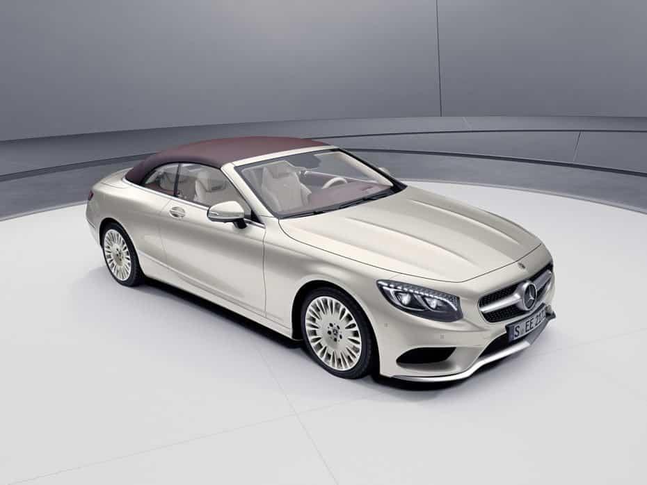 Mercedes-Benz Clase S Cabrio/Coupé Exclusive Edition: La edición limitada más lujosa llega a Ginebra