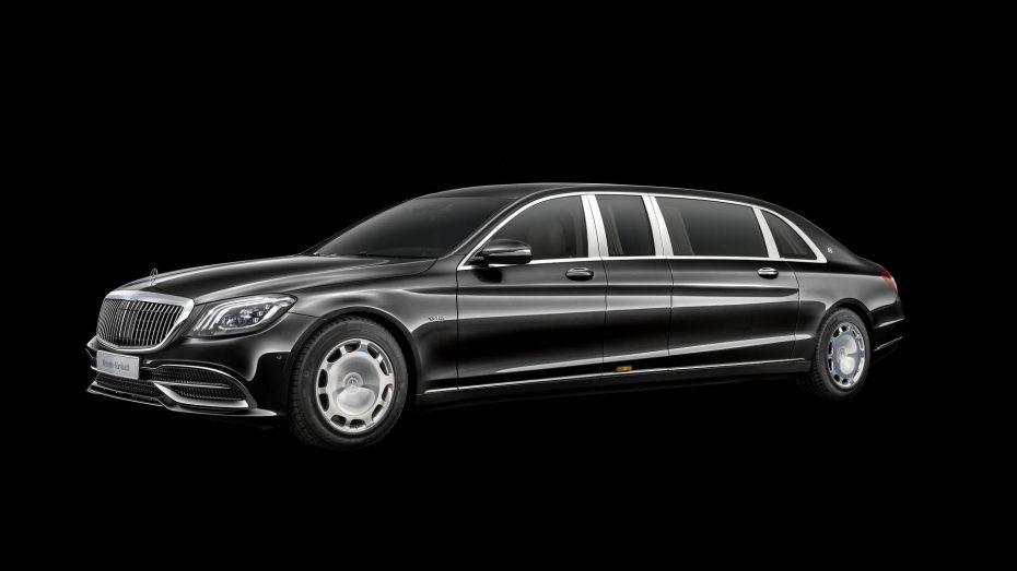 Mercedes-Maybach Pullman 2018: Sutiles mejoras estéticas con 100 CV y 170 Nm extra para el V12