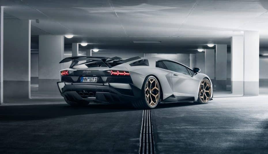Llega el nuevo Lamborghini Aventador S de Novitec: Pura potencia y ahora más ligero
