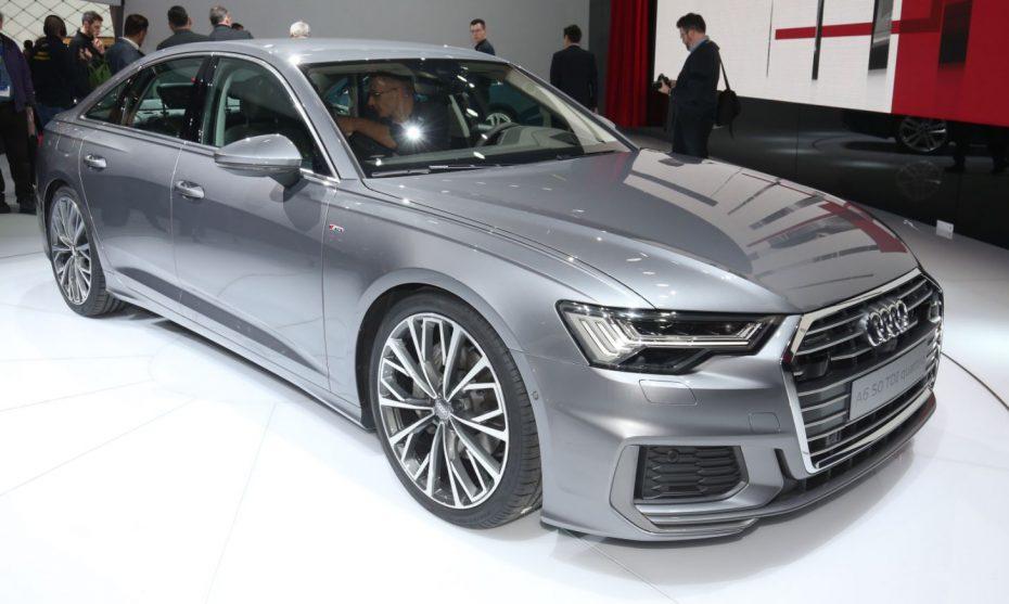 ¡Directo! El nuevo Audi A6 debuta en Ginebra y es un alarde tecnológico