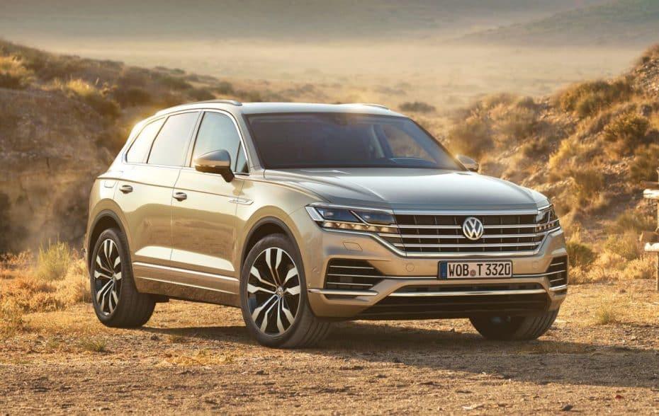 Todos los precios del nuevo Volkswagen Touareg para España